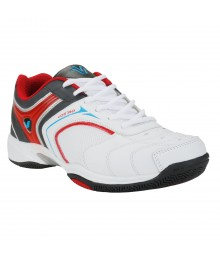 Vostro VST07 White Black Red Men Sports Shoes VSS0099